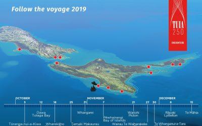 Tuia 250 Voyaging Flotilla