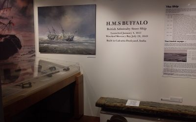 New HMS Buffalo Exhibit
